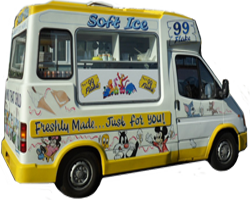 An image of an ice cream van