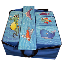An Undersea World themed Soft Play Set
